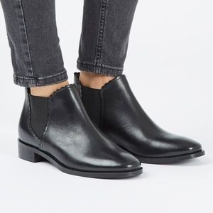 Top Shop Kiki Black Chelsea Ankle Boot